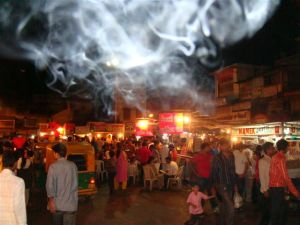 Manek Chowk, 10 pm