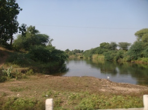 Stream in Sabarkantha district in Gujarat